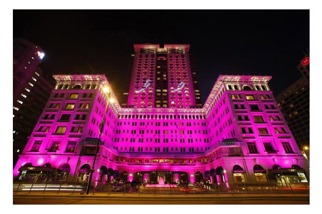 2013 pinkribbon 1 世界中のランドマークがピンク色に染まる!理由はピンクリボンキャンペーン!