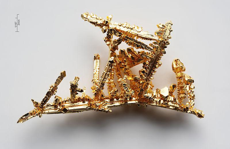 800px Gold crystals ユーカリの木は黄金のなる木?新発見された驚愕の事実!