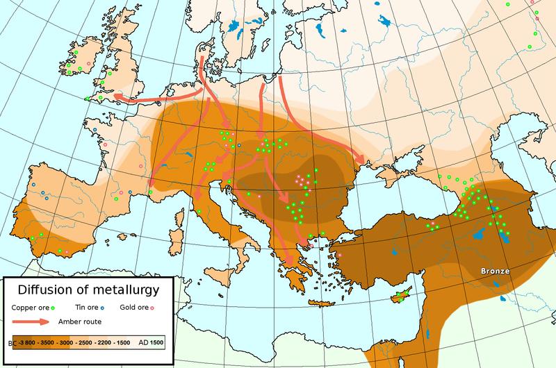 800px Metallurgical diffusion イスラエル周辺に栄えた古代文明、崩壊の原因は干ばつか?