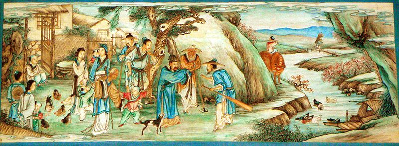 800px P1080320 桃源郷、住むのは仙人か人間か。中国湖南省の理想郷。