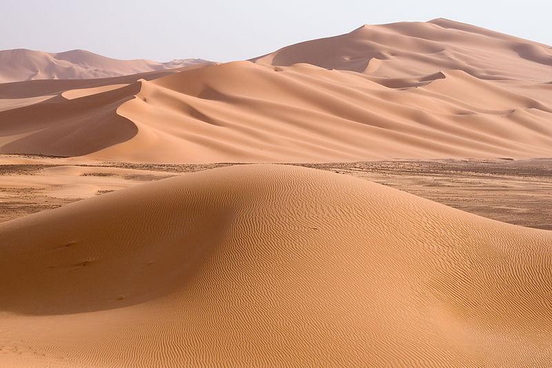 Libya 5230 Wan Caza Dunes Luca Galuzzi 2007 イスラエル周辺に栄えた古代文明、崩壊の原因は干ばつか?