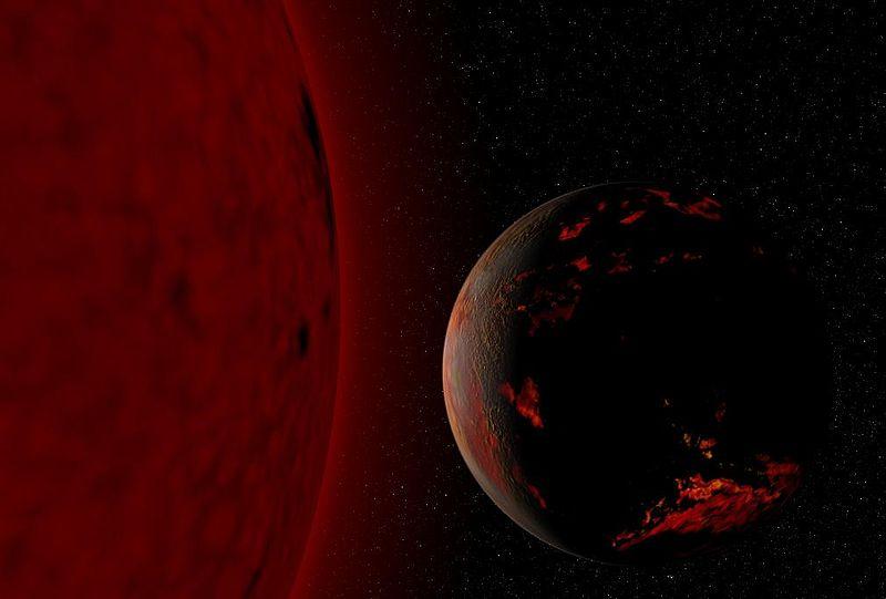 Red Giant Earth 地球の生命は28億年後に絶滅?原因は太陽の膨張による超温暖化!