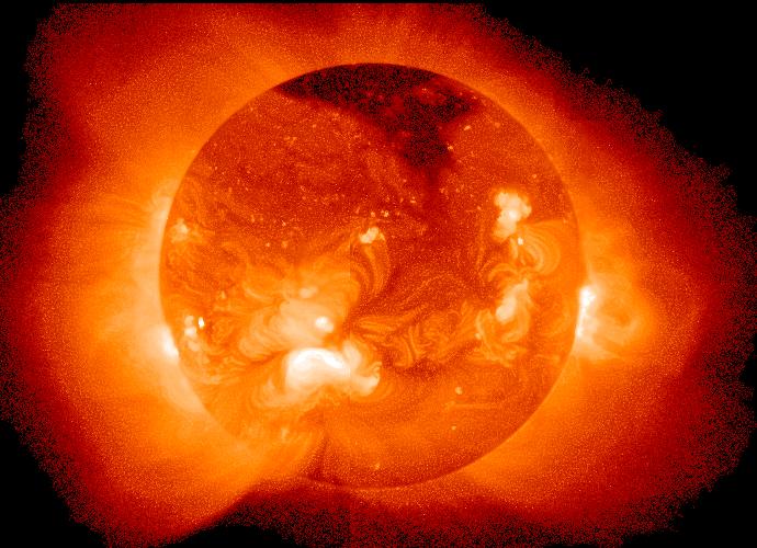 Sun in X Ray 地球の生命は28億年後に絶滅?原因は太陽の膨張による超温暖化!