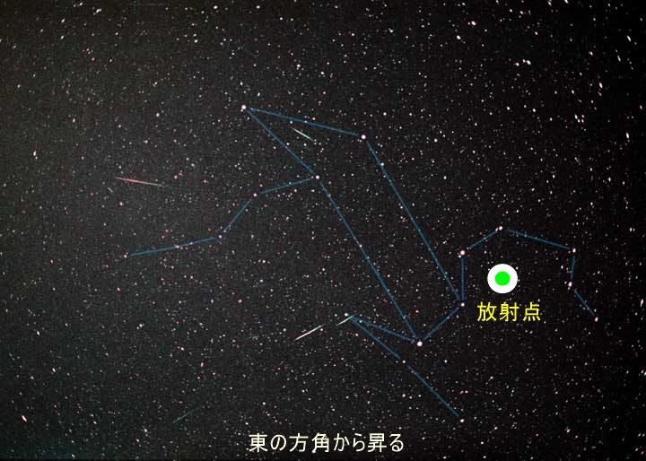 leonids2 large しし座流星群、2014年は11月18日が見ごろ!おうし座流星群とのダブル流星群観測の可能性も!