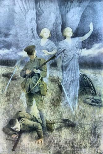mons2 333x500 モンスの天使。第一次世界大戦の戦場に現れた謎の天使達とは。