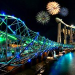 世界で最も奇妙で美しい橋、ヘリックス・ブリッジ!
