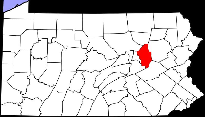 800px Map of Pennsylvania highlighting Columbia County svg セントラリア。サイレントヒルのモデルとなった、地下火災が50年続く町。