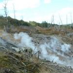 セントラリア。サイレントヒルのモデルとなった、地下火災が50年続く町。
