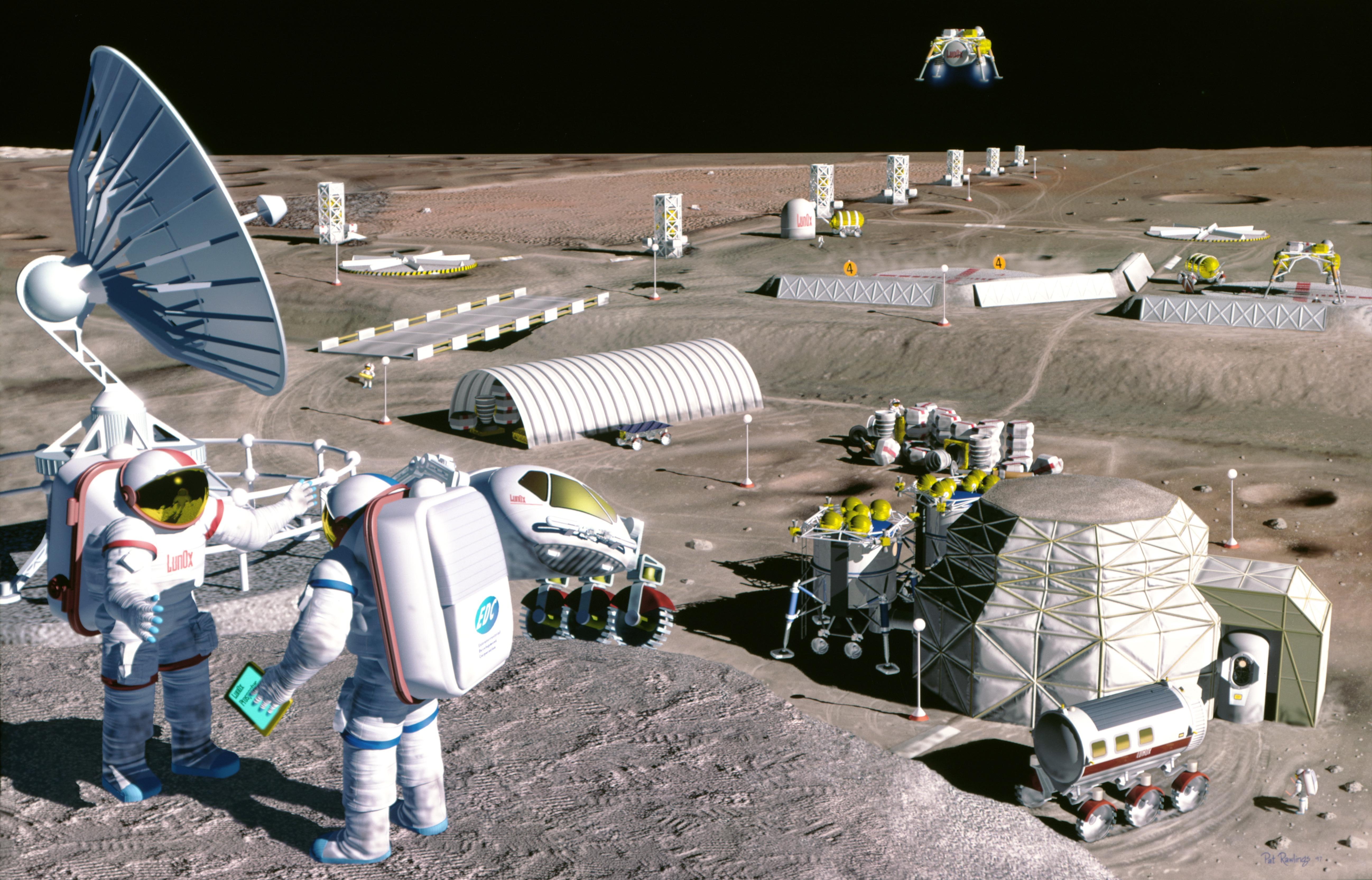 Mooncolony 宇宙から資源調達する時代が到来か?