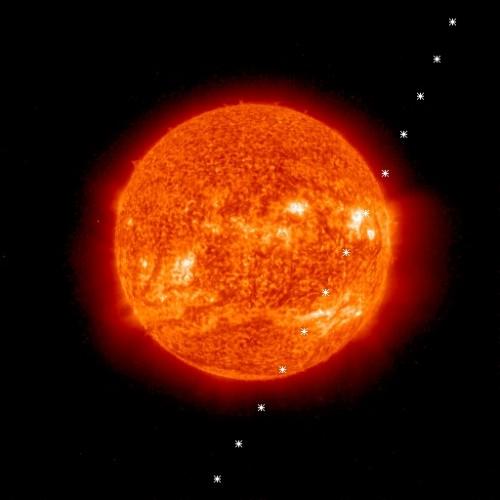 ison euvib Nov28 1810 2010 500x500 アイソン彗星が消滅した可能性?予想よりも多くの塵が観測される!