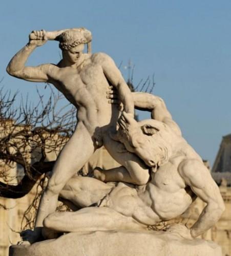 1128249 f496 451x500 クレタ島の迷宮、クノッソス宮殿。