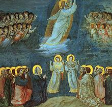 220px Giotto   Scrovegni    38    Ascension キリストの墓、世界中に残る理由は。