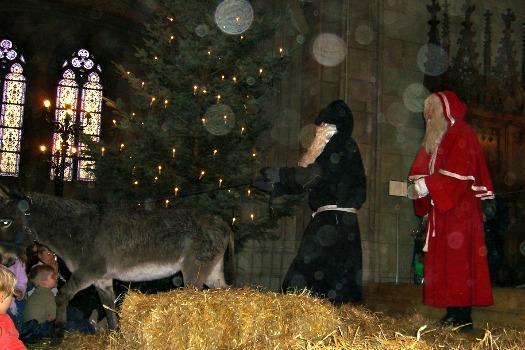 Germany 2 ブラックサンタクロース(クネヒト・ループレヒト)、ドイツに伝わる本当は怖いクリスマス。