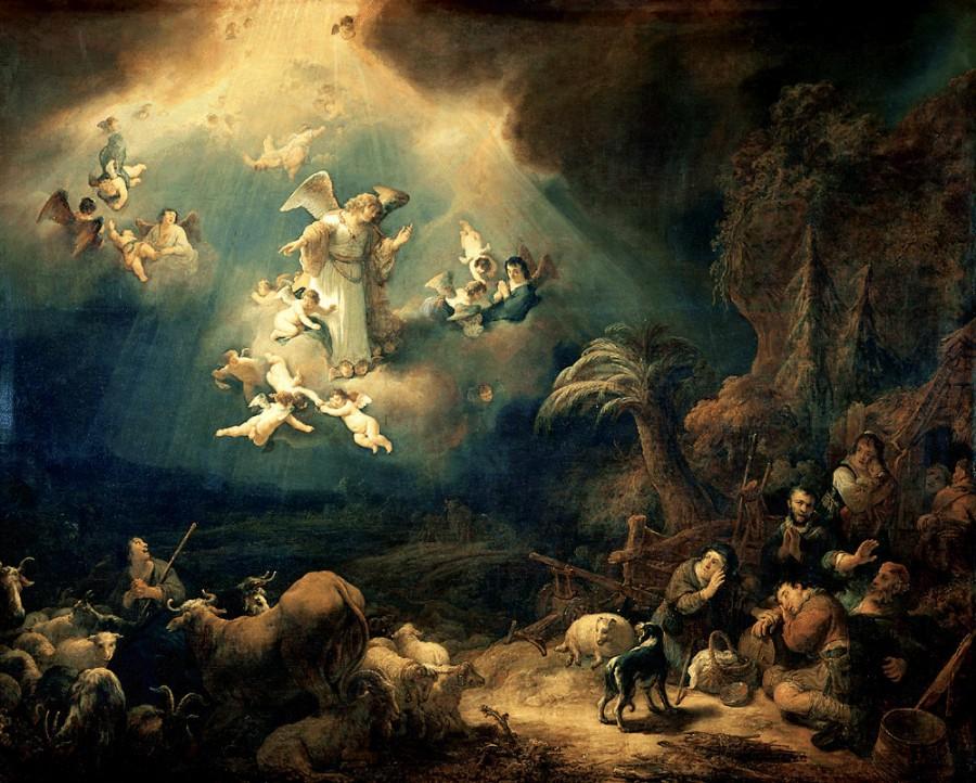 Govert Flinck   Aankondiging aan de herders 900x722 天使に翼は無く、人間に見ることは出来ない!カトリック神父が興味深い発言。