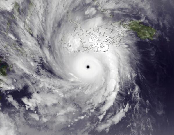 Haiyan Nov 7 2013 1345Z e1387902228325 2013年、世界の気温は観測史上2番目の高さになったことが判明。