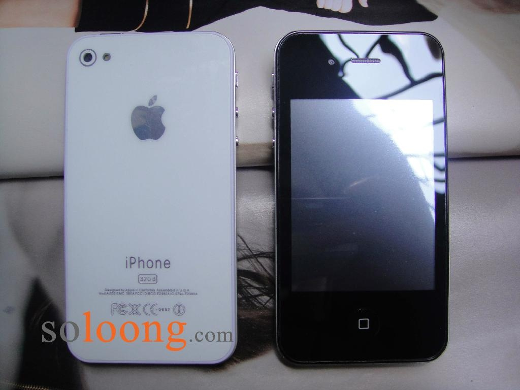 SoliPhone F8 Cheapest iPhone 4 4s 32GB China Copy Quad Band Mobile Cell Phone 中国各地に蔓延する偽物(コピー商品)事情。なんと清の時代のドラえもんの石像まで!