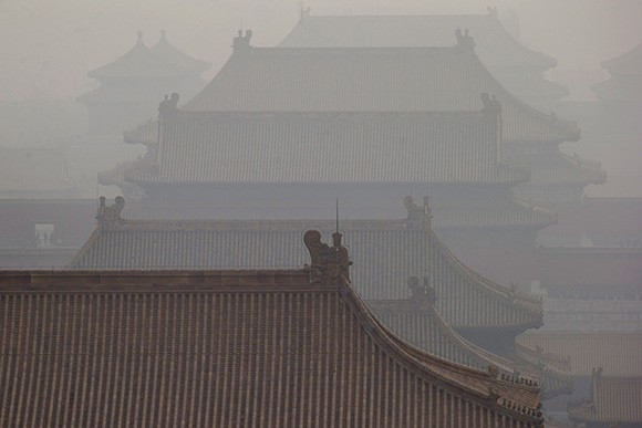 beijing air polllution 9 北京市が大気汚染対策として人口抑制を実施する可能性。