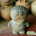 中国各地に蔓延する偽物(コピー商品)事情。なんと清の時代のドラえもんの石像まで!