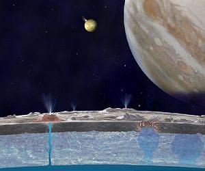 jupiter moon europa エウロパで高さ200kmの噴水が確認される!生命が存在する可能性も指摘される!