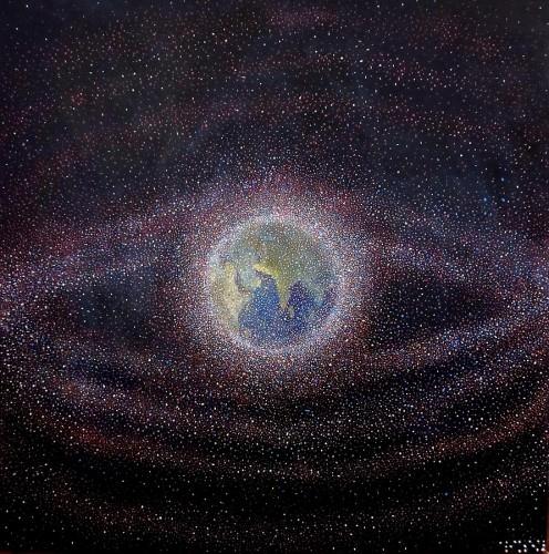 space debris alizey khan 496x500 宇宙ゴミ問題が深刻に。