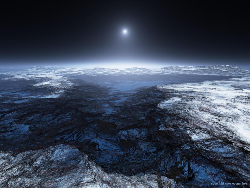 veenenbos europa 20061119new 1 エウロパで高さ200kmの噴水が確認される!生命が存在する可能性も指摘される!