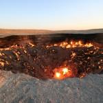 40年間燃え続ける洞窟、別名地獄の門!