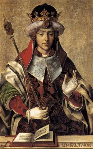 Berruguete Pedro   Salomon   c  1500 313x500 悪魔を従えた人間、ソロモン王!