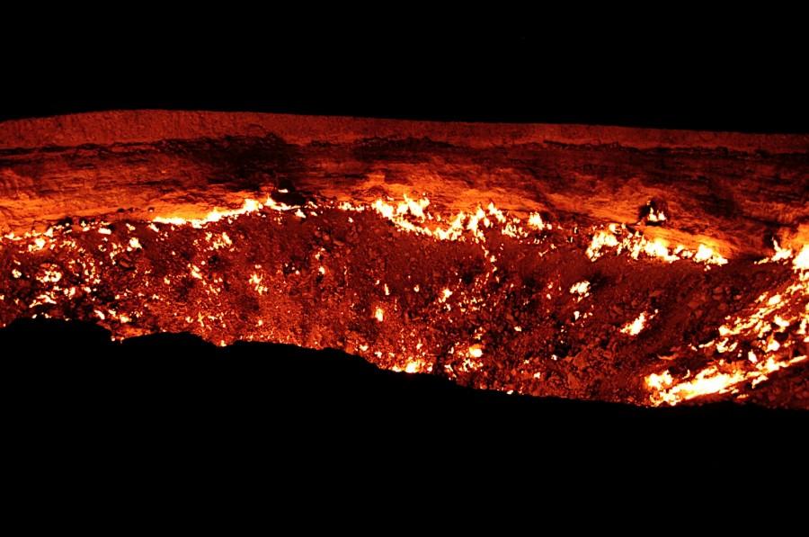 DSC 0280 900x597 40年間燃え続ける洞窟、別名地獄の門!