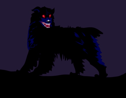 Ghost BlackDog 謎の黒い犬、ファントムドッグ!