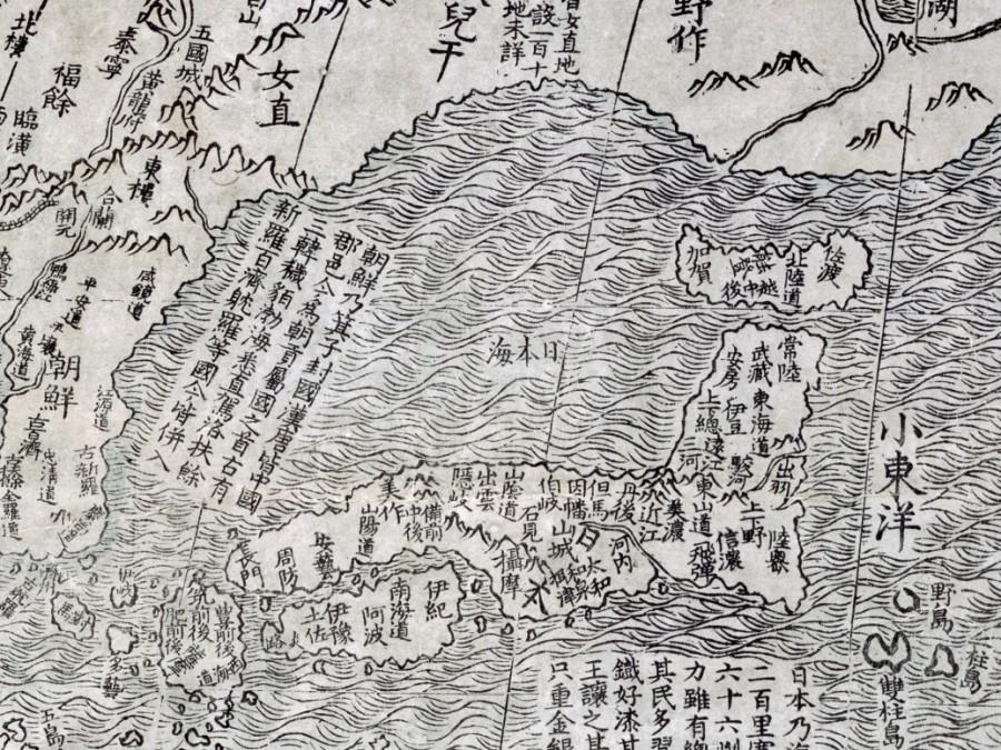 Sea of japan in ricci world map 900x675 バージニア州「日本海」と「東海」の併記を議会で可決!