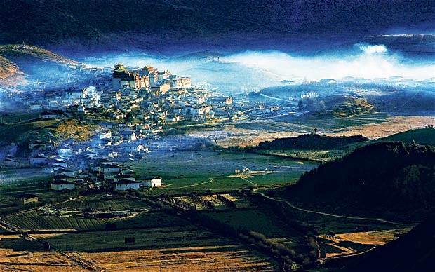 china 2489480b シャングリラ、チベットの理想郷。