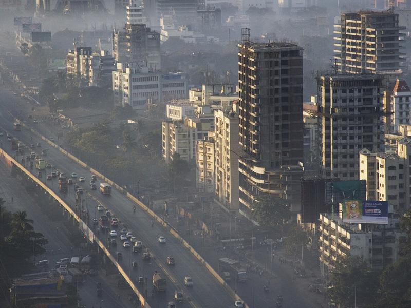 zoom インドで大気汚染が深刻に、一部地域では中国を上回る数値が計測される。