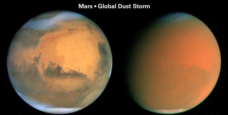 0131w1 火星温暖化、極地の氷が2年で半減!