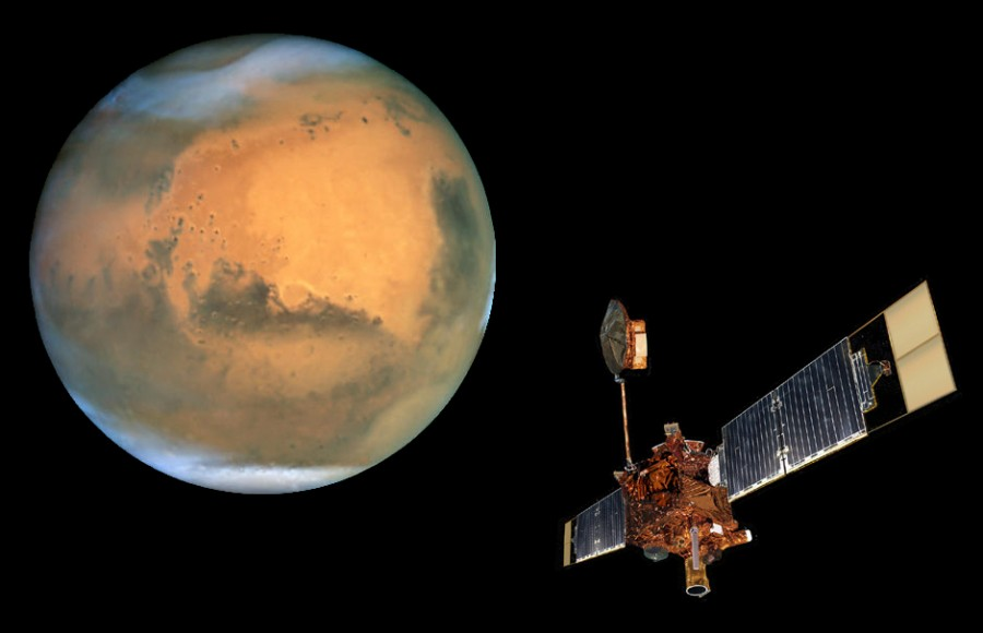 0150252bb7e6364f6a4a15d9291a6afa1 900x580 火星温暖化、極地の氷が2年で半減!
