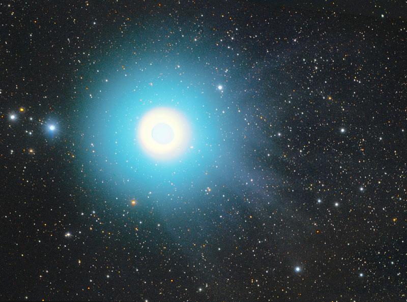 017p 20071031mj ホームズ彗星、2014年3月27日に接近!太陽光で観測困難も7~9月には観測可能性あり。