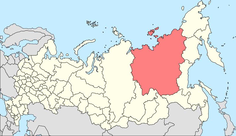 800px Map of Russia   Sakha Yakutia Republic 2008 03 svg ミール鉱山、地球に開いた巨大な穴!