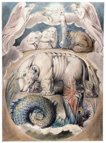 Behemoth and Leviathan Butts set 369x500 神が自ら生み出した悪魔、リヴァイアサンとベヒーモス。