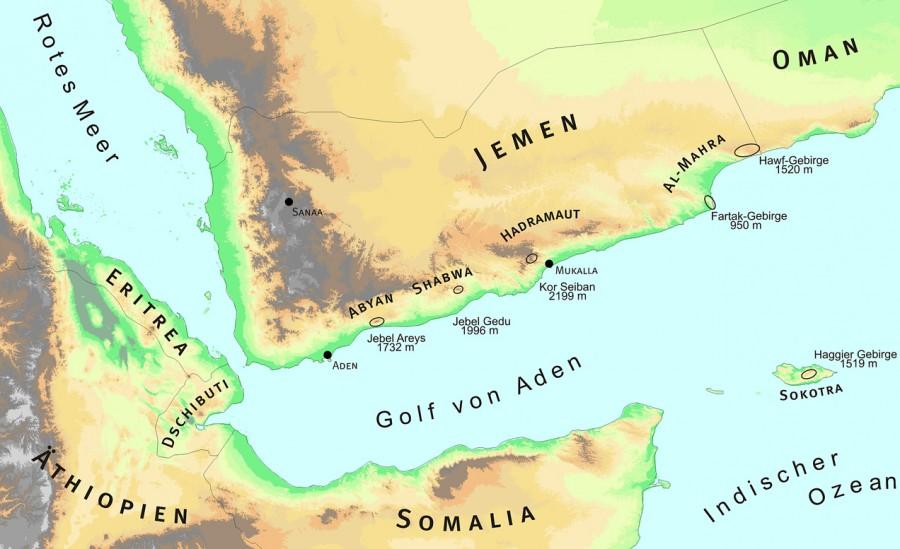 Map refugia Yemen 900x549 ソコトラ島、インド洋のガラパゴス諸島!