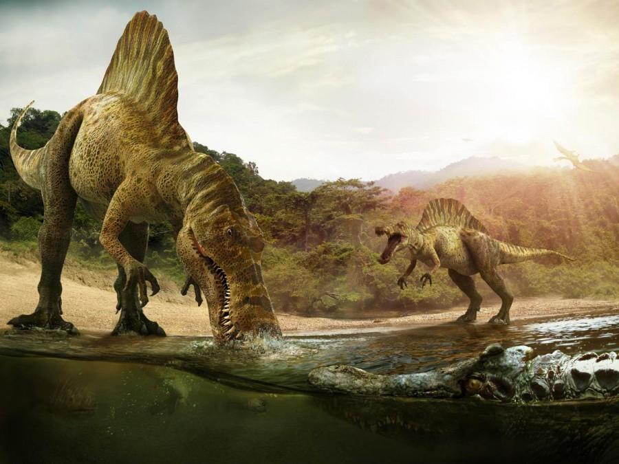 Spinosaurus Deinosuchus 900x675 マレーシアで初めて恐竜の化石が発見される!