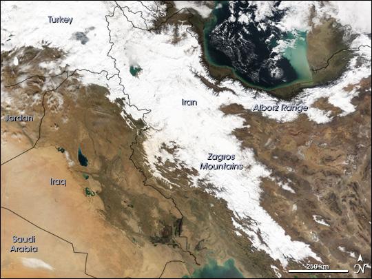 snow iran 2005 砂漠の国イランで大雪が降る!50年ぶりの現象。