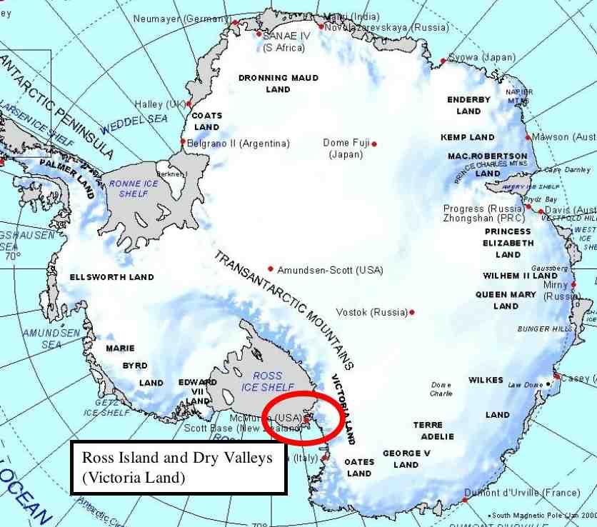 victoria land 03 血の滝!南極で見られる詳細の現象!