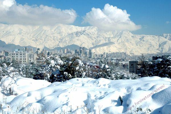 winter tehran 砂漠の国イランで大雪が降る!50年ぶりの現象。