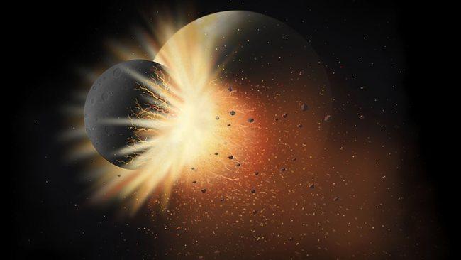 388311 giant impact earth 月誕生の謎、元々は地球と1つだった可能性。