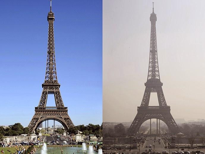 Air Pollution in Paris パリにも深刻な大気汚染が。フランス政府が規制を設ける。