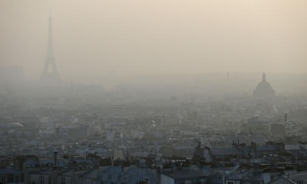 Air pollution in Paris E 010 パリにも深刻な大気汚染が。フランス政府が規制を設ける。