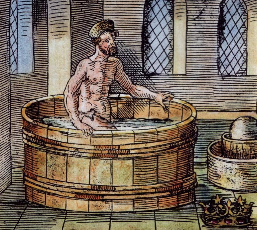 Archimede bain 900x806 エウレカ。真実を発見したアルキメデスの言葉。