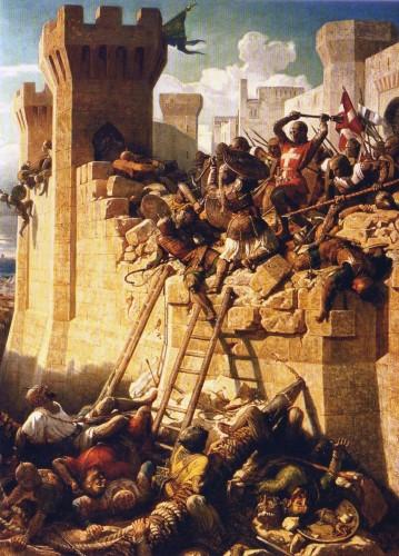chevaliers rhodes 026 siege acre mathieu clermont defendant murs en 1291 359x500 マルタ騎士団、今を生きる騎士達!