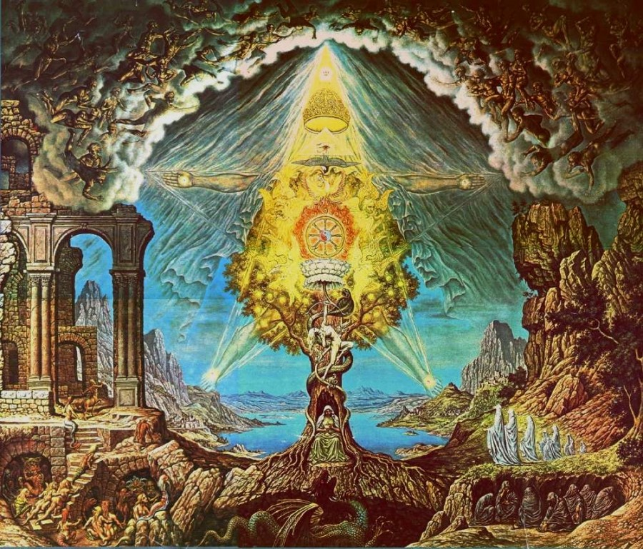 gnostic 900x769 グノーシス主義。異端とされた神秘思想。