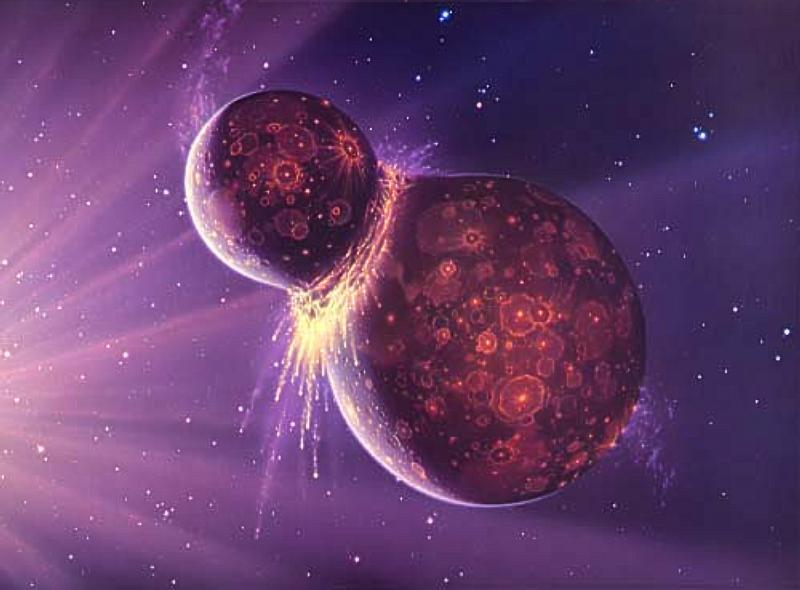 moon formation 月誕生の謎、元々は地球と1つだった可能性。