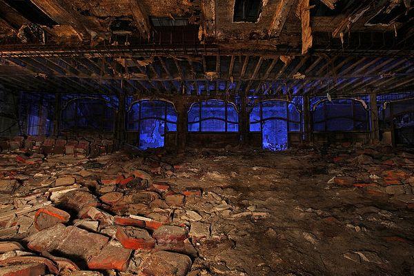 palace theater gary indiana ゲーリー廃墟地帯、ホラー映画ロケのメッカ。